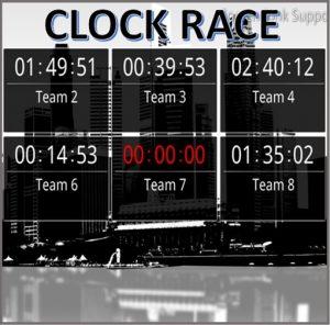clock race